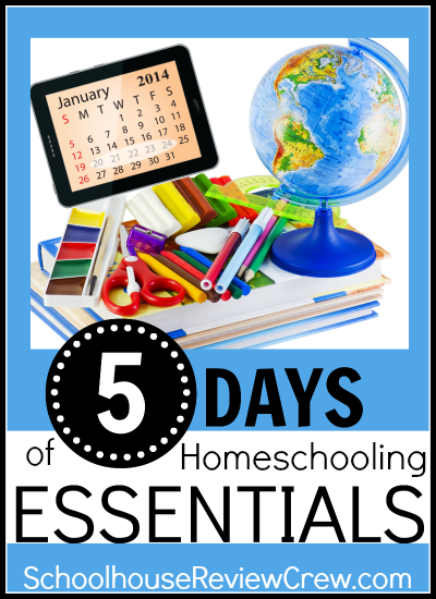 5 Days of Homeschooling Essentials Schoolhouse Crew Review
