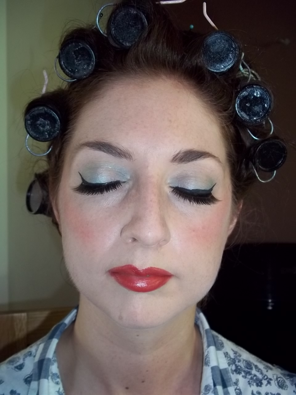 S Makeup: 1950's Hair And Make Up For Secret Cinema Screening Of