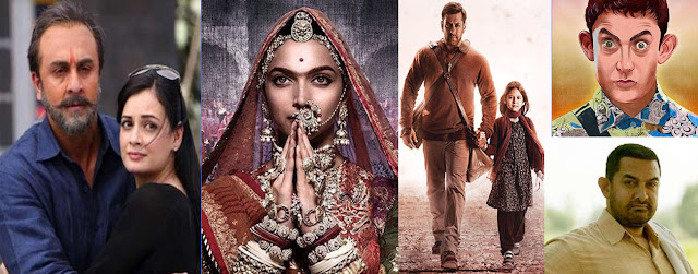 10 Highest Grossing Movies Bollywood -Highest Grossing Bollywood Movies of all Time