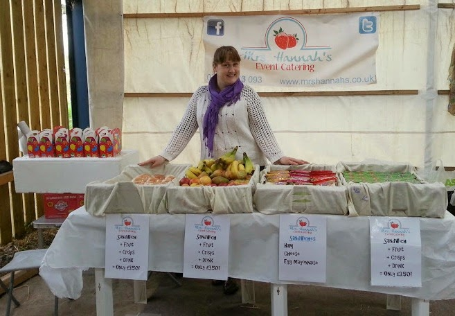 Mrs Hannah's event catering Little Fun Fest