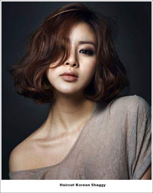 Contoh model rambut wanita korea