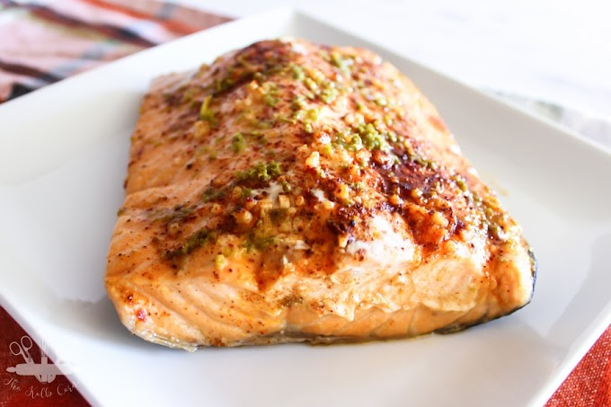 Easy Oven Baked Chili Lime Salmon #dinnerrecipe #food #amazingrecipe #easyrecipe