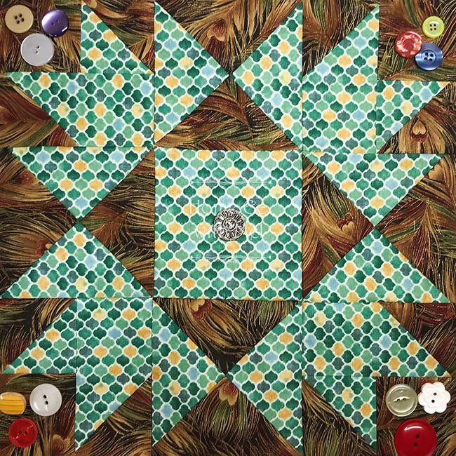 Union Square Quilt Block by Fat Quarter shop