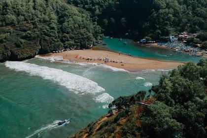 7 Pantai Pasir Putih Gunung Kidul Jogja, Nomor 4 Keren Abis