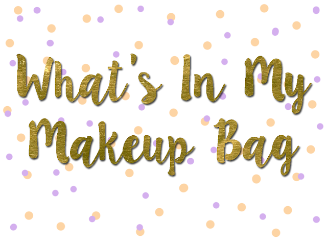 What's in my makeup bag header