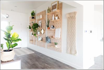 diy shelves wall organization ideas