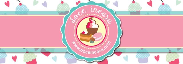 Doce Incasa, by Priscila Racca. logo criação Paula Mello.