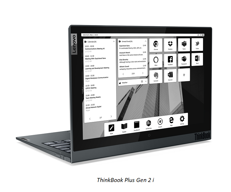 ThinkBook Introduces New Models for Mobile Professionals in a Remote Revolution