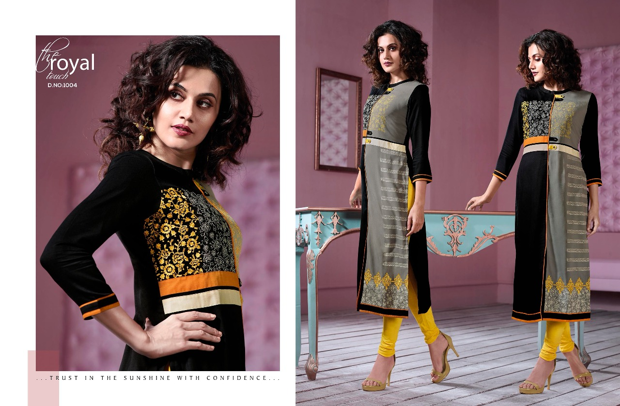 Rangoon taapsee pannu vol 1 kurties collection