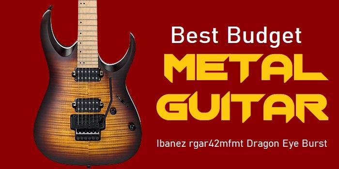 Ibanez rgar42mfmt Dragon Eye Burst - Budget Metal Guitar