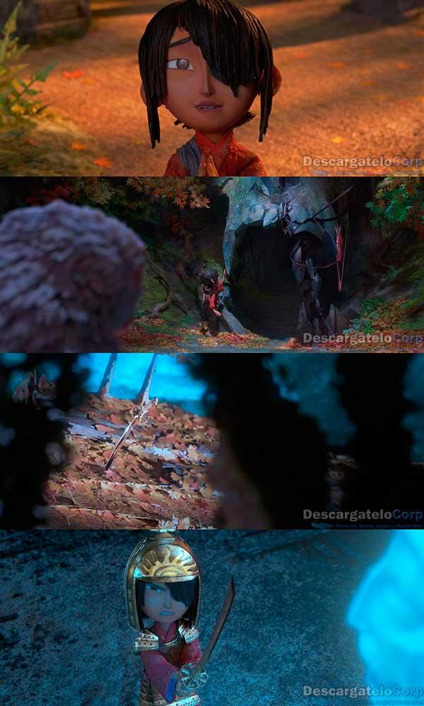 Kubo y la Busqueda Samurai HD 720p Español Latino