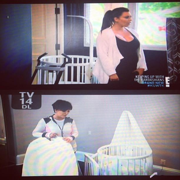 Kim Kardashian uses a Stokke Sleepi crib | Baby Chic 101