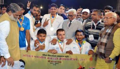 हरियाणा ने जीता कबड्डी चैम्पियनशिप, मिला 1 करोड़ इनाम