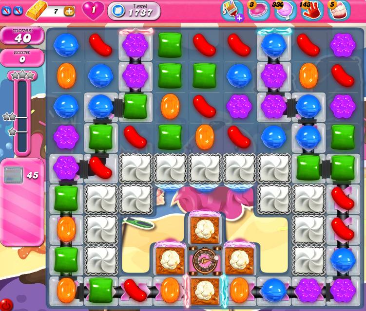 Candy Crush Saga 1737