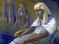 The Pharaoh was concerned, as there were around two million Israelites.
