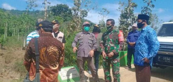 Program Tentara Membangun Desa (TMMD) Ke -110 ,Plt Bupati Dan Dandim 0824 Tinjau Lokasi Dua Desa Silo
