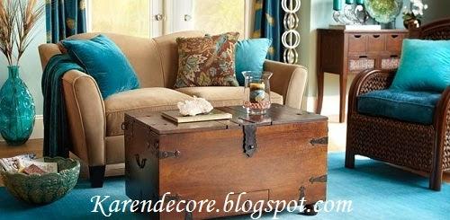 Sala De Estar Marrom Com Azul ~ toda a diferença na hora de compor uma decoração Uma sala de estar
