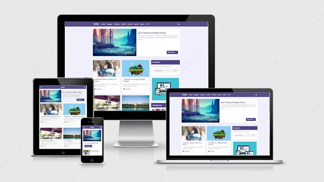 volta template blog gratis
