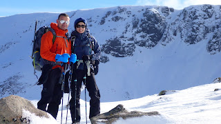 Private Guided winter walking and winter skills