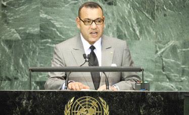كلمة صاحب الجلالة الملك محمد السادس نصره أمام الجمعية العامة للأمم المتحدة بنيويورك