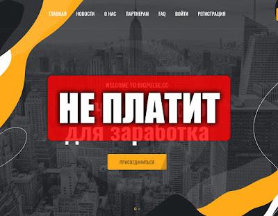 Скриншоты выплат с хайпа bigpulse.cc
