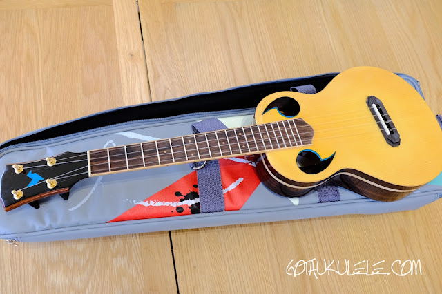 The Rebel Quark Tenor Ukulele