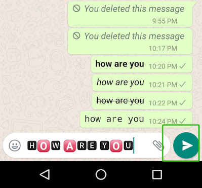 Want to make your chat colorful here how to change font in whatsapp