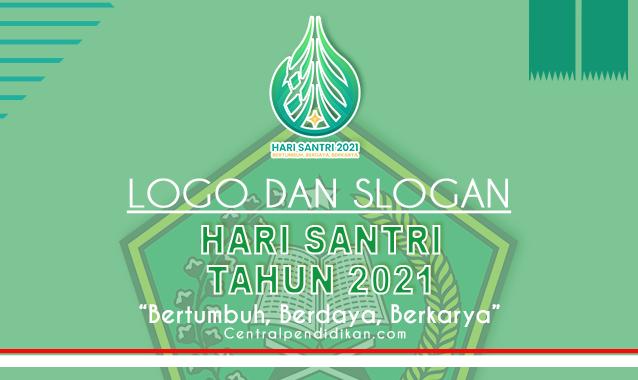 Logo dan Slogan Hari Santri 2021 resmi Kementerian Agama (RMI NU)