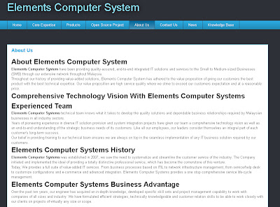 Elements Computer System