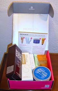 Memebox Special #29 Scrub Box