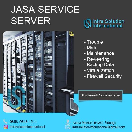 Jasa Service Server Manokwari