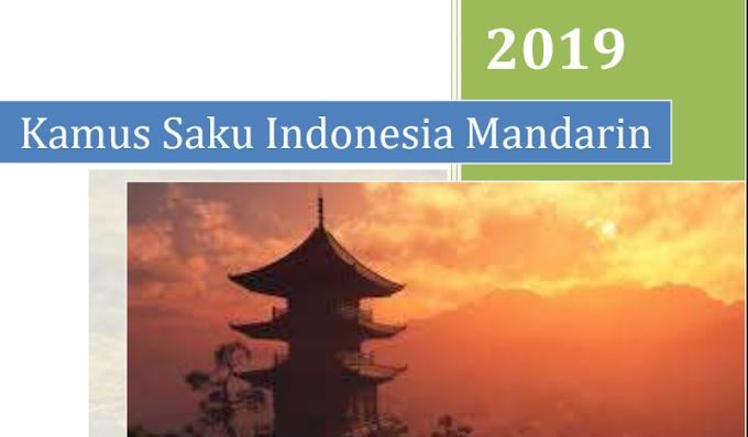Download Kosakata Bahasa Indonesia Ke Bahasa Mandarin