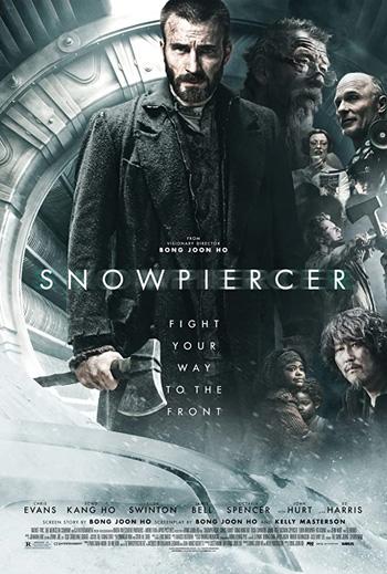 Snowpiercer 2013 Dual Audio ORG Hindi 720p BluRay 1GB DD5.1Ch poster