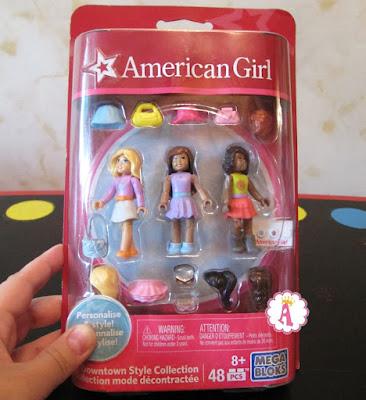 Конструктор Mega Bloks коллекция фигурок American Girl