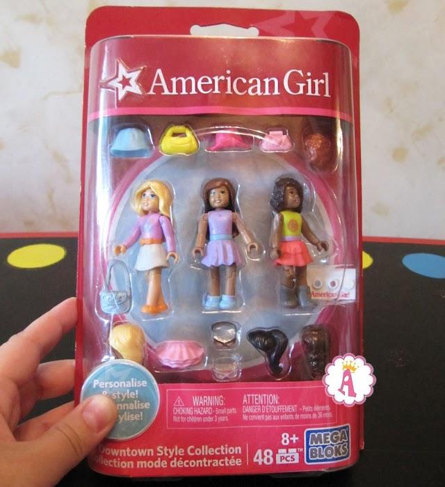 Куклы конструктор Mega Bloks серия American Girl: модницы с одеждой и париками