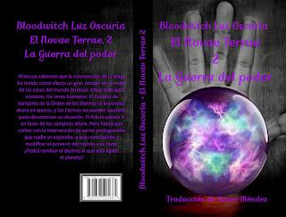 "Couverture de ""El Novae Terrae 2"", de Bloodwitch Luz Oscuria, traducido por Xavier Méndez"