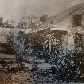 Partial view of house built in Sarasota in 1850s