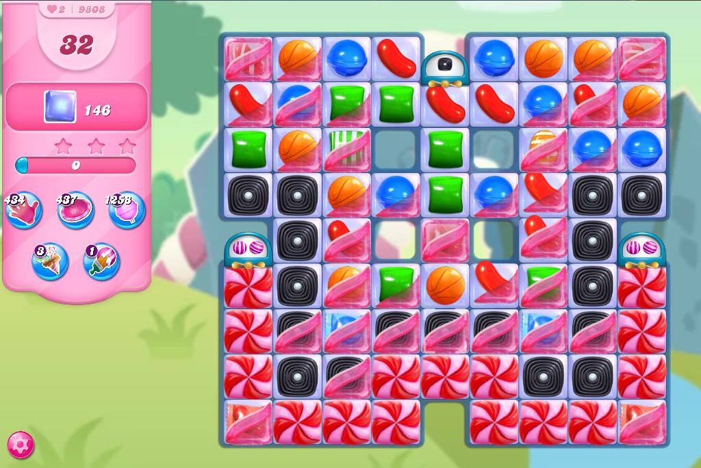 Candy Crush Saga level 9808
