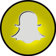 snapchat glowing icon
