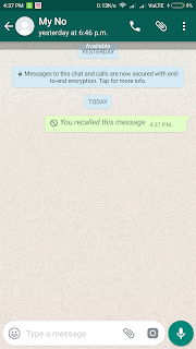 How to delete a sent WhatsApp message before it's delivered