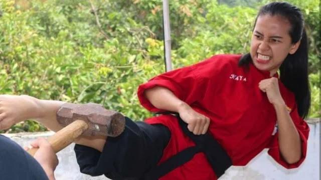 Ramai Dituding Gunakan Jurus Palsu, Pesilat Wanita Chintya Akhirnya Berani Buka Suara