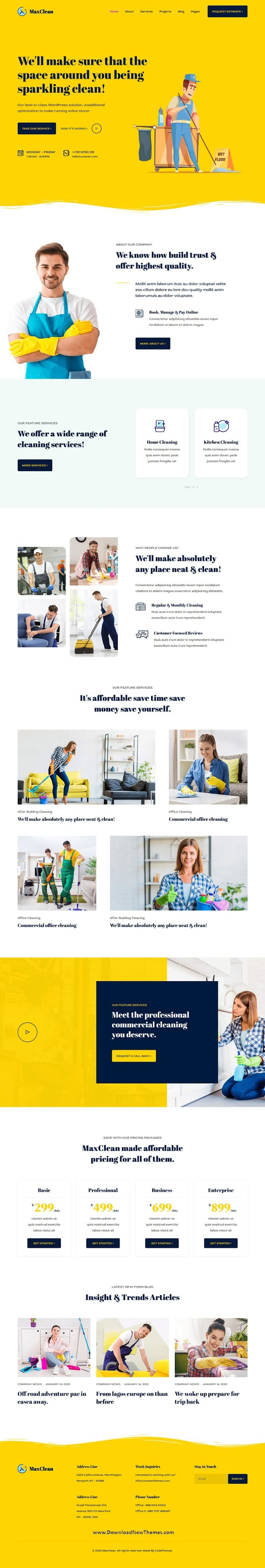Cleaning HTML Template