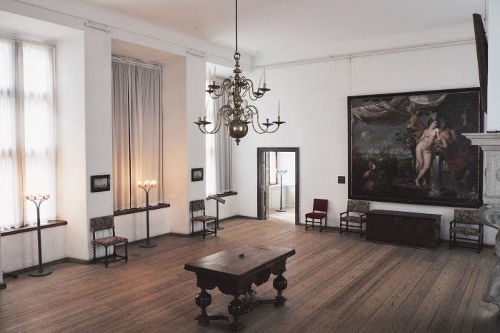 Visite du château de Kronborg au Danemark