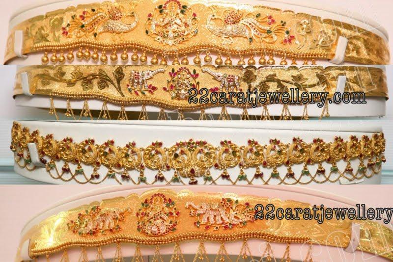 Gold Vaddanam Waistbelt Designs Gallery By Grt Jewellery