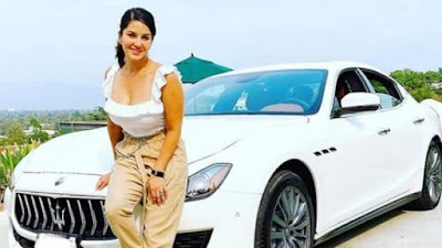Sunny Leone bought new luxury car fans congratulated