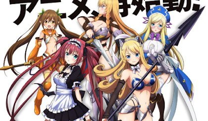 Queens Blade: Unlimited Todos os Episódios Online