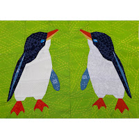 Foundation Paper Pieced Little Blue Penguin Quilt Pattern