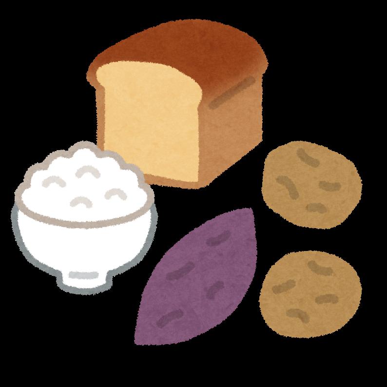 図:食物繊維と炭水化物
