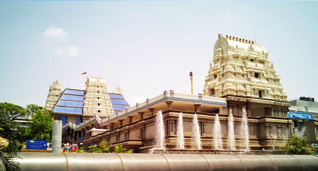 ISKCON Temple , Hyderabad