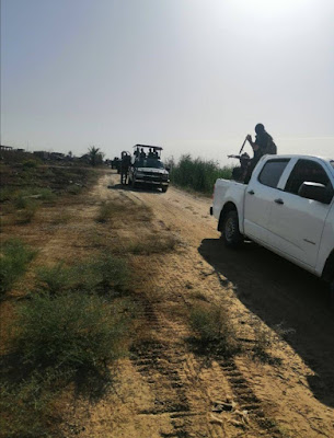 الحشد والقوات الأمنية ينفذان عملية أمنية جنوب سامراء المقدسة